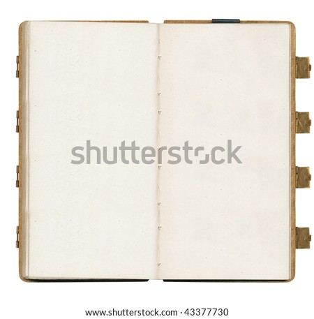 vintage book - stock photo