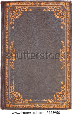 Vintage Book Cover 1922 - stock photo