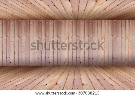 vintage brick wall and wood floor texture interior background   - stock photo