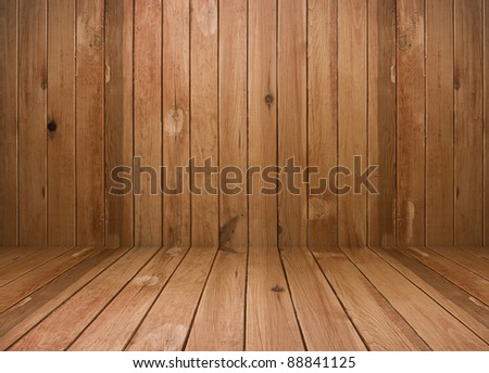 vintage brown wooden planks interior
