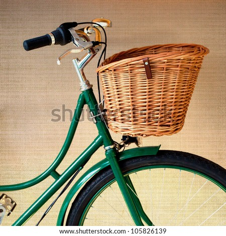 Vintage Bycicle - stock photo