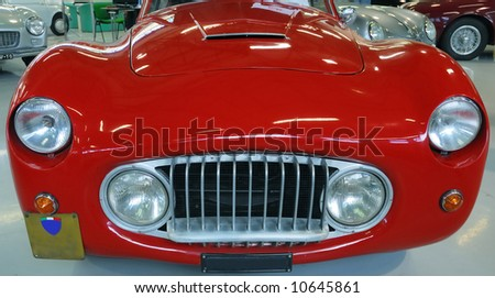 Old Classic Red Car Beach Stock Photo 35865184 Shutterstock