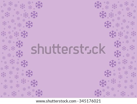 Vintage card   with  Christmas pattern in lilac tones. - stock photo