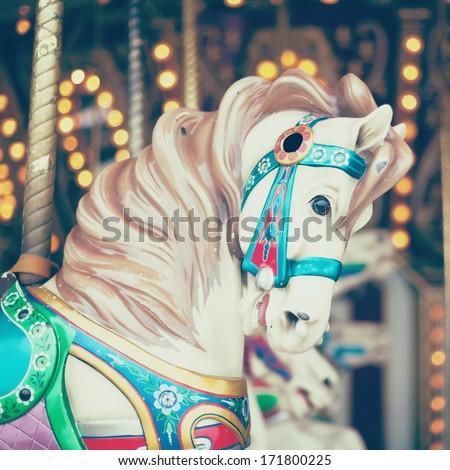 Vintage Carnival  - stock photo