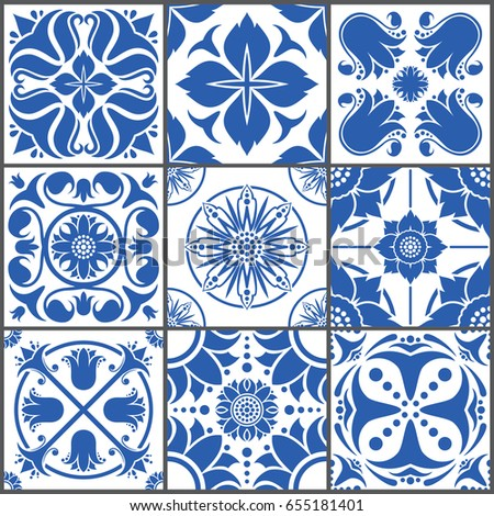 Vintage mozaic tile are