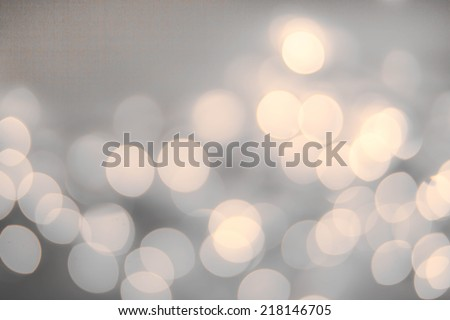 Vintage Christmas background with bokeh lights.  Defocused Bokeh twinkling Lights Festive holiday party  background.  - stock photo