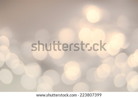 Vintage Christmas background with bokeh lights. Golden Defocused Bokeh twinkling Lights Festive holiday party background. - stock photo