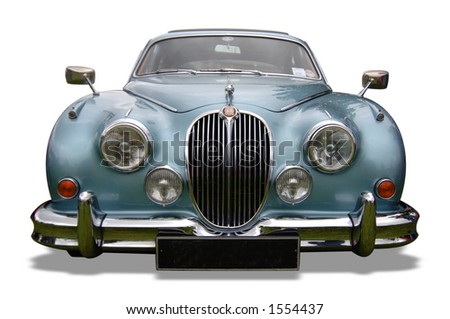 Vintage Classic Jaguar - stock photo