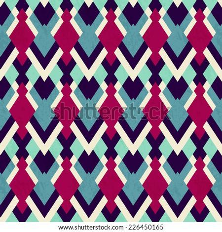 vintage cloth seamless pattern (raster version) - stock photo