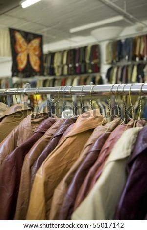 vintage coat rack - stock photo