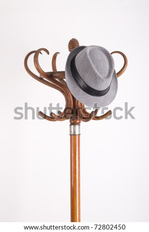 Vintage Coat Rack - stock photo