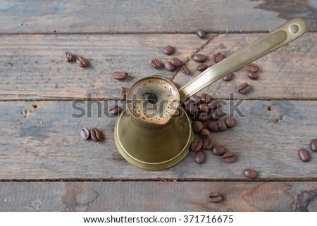 Vintage Coffee Pot - stock photo
