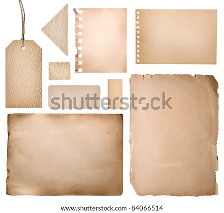 vintage collection - stock photo