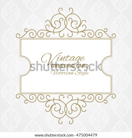vintage collection: Baroque and antique frames, labels, emblems and ornamental design elements