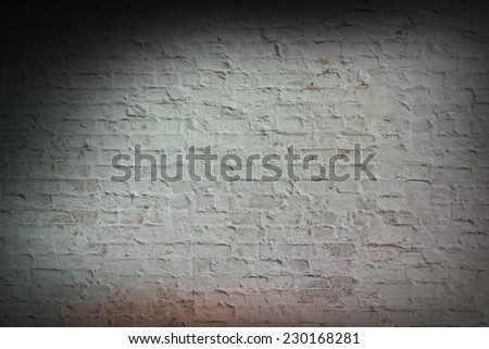 Vintage Colored Brick Wall Background. Instagram Style - stock photo