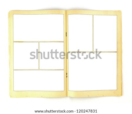 Comic book stock images royalty free images vectors shutterstock vintage comic book paper background template pronofoot35fo Gallery