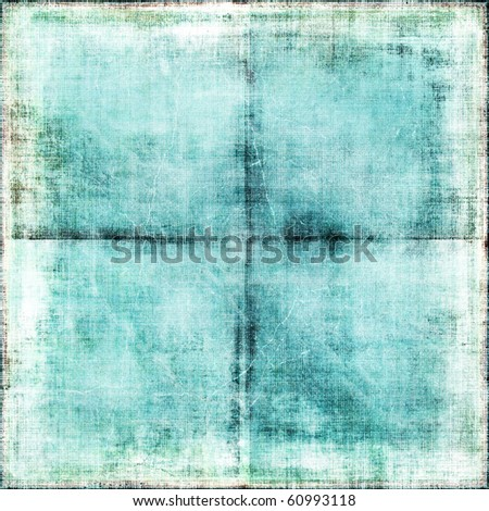 Vintage Creased Paper - stock photo