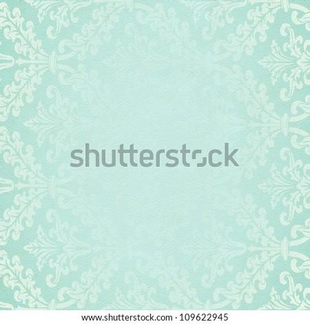 Vintage damask background - stock photo