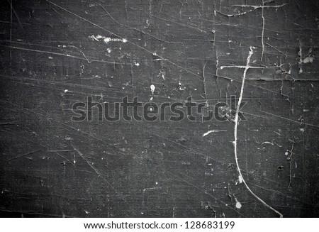 Vintage dark surface of wood - stock photo