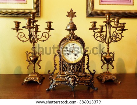 vintage decorate house  - stock photo