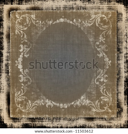 Vintage Decorative Grunge - stock photo
