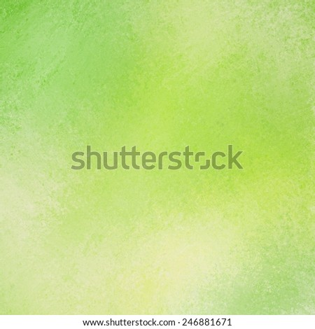 vintage distressed  bright lemon lime green background texture layout - stock photo