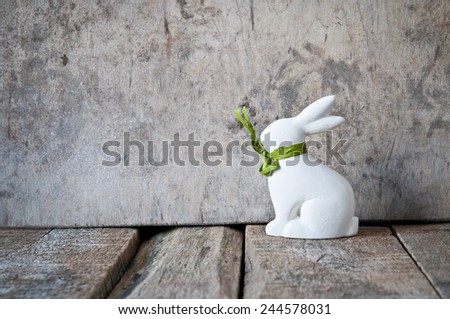 Vintage Easter background - stock photo