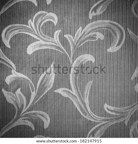 vintage fabric  floral background - stock photo