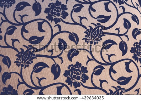 Vintage Fabric texture background - stock photo