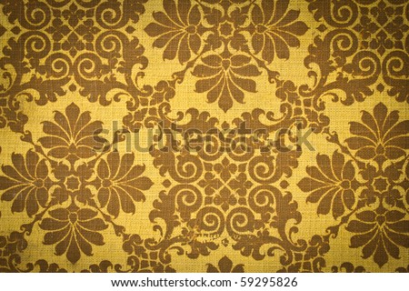Vintage Fabric texture background. - stock photo