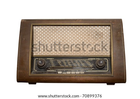 Old Fashioned Radio Voice Effect