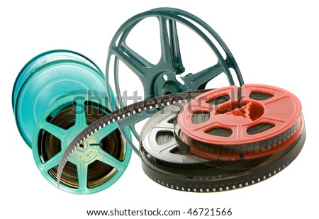 vintage film cinema - stock photo