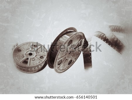 Old Wrist Watch Box Covered Dust Stock Photo 44602765