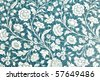vintage floral background - stock photo