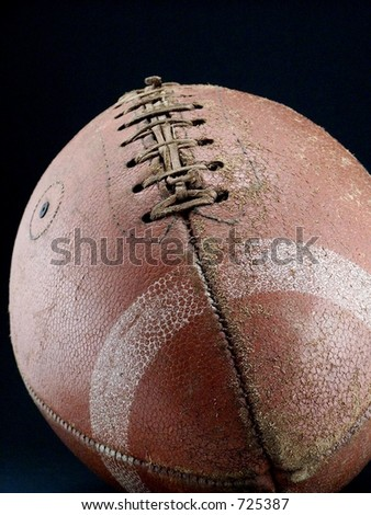 Vintage football - stock photo