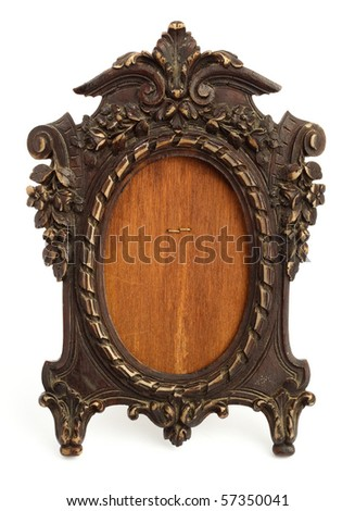 vintage frame - stock photo