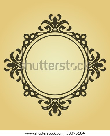 Vintage frame. Vector version also available in gallery