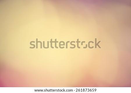 Vintage gold bokeh background - stock photo