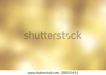 Vintage golden yellow blur defocus background. - stock photo