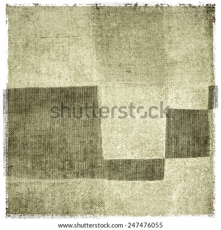Vintage gray fabric texture background - stock photo