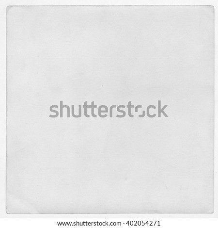 Vintage gray paper background, blank album page - stock photo