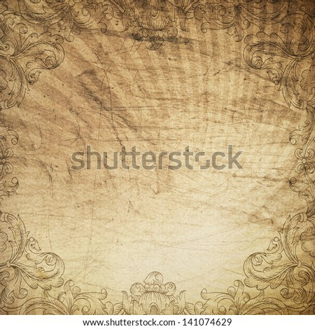 Vintage grunge background. With space for text or image. - stock photo