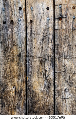 Vintage grunge distressed wooden planks background