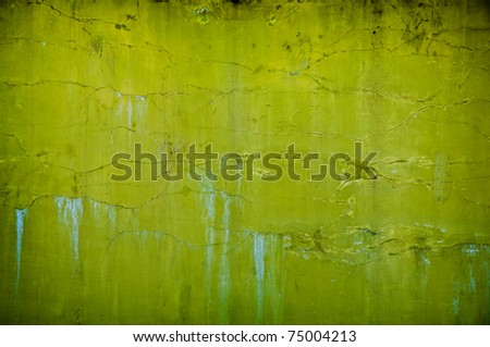 vintage grunge green background with artistic shadows added - stock photo