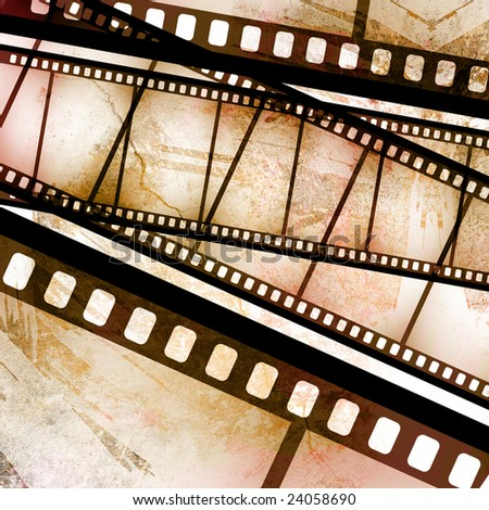 vintage grunge textures and backgrounds for your projects with filmstrip decoration