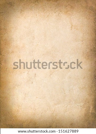 Vintage grungy background of old yellow paper