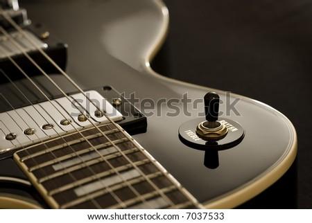 Vintage Guitar - stock photo