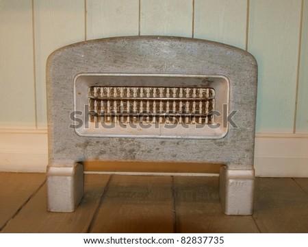 Vintage heater - stock photo