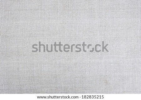 Vintage homespun handwoven linen fabric as background or texture