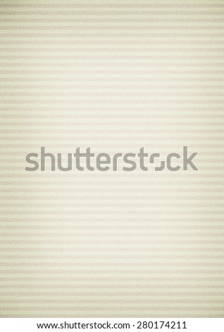 Vintage horizontal striped paper background - stock photo